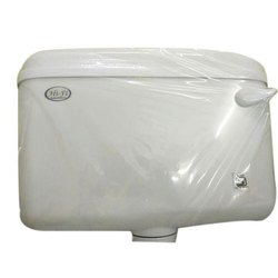 Hi-Fi White Toilet Flush Tank