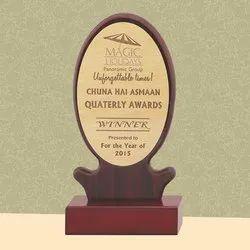 PI 18-311 Wooden Trophy