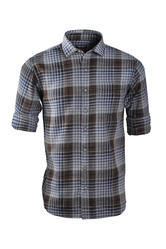Brown Plaid Patterned Casual Shirt