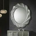 Silver 24 *24 Inch Designer Mirror Glass