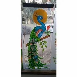 Printed Stained Glass, Shape: Rectangular