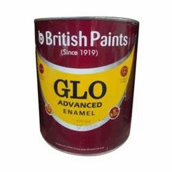 White GLO Enamel Paint