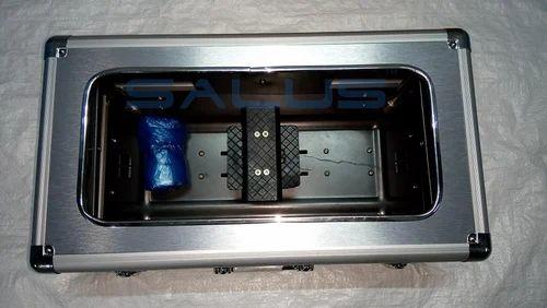 fed801d0787 Silver Metallic SALUS Automatic Shoe Cover Dispenser