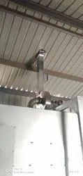 Owen Rectangular Exhaust Duct, For Industrial