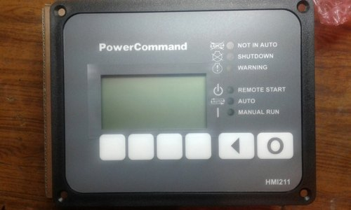 cummins power command controller hmi 211 - remote generator control panel  part 0541 1394