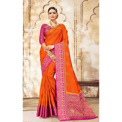 Nylon Silk Saree