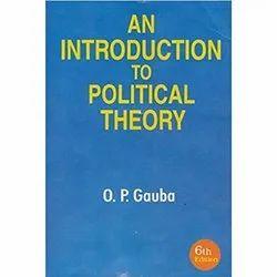 O P Gauba English Introduction To Political Theory