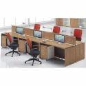 Solidwood Modular Office Workstation