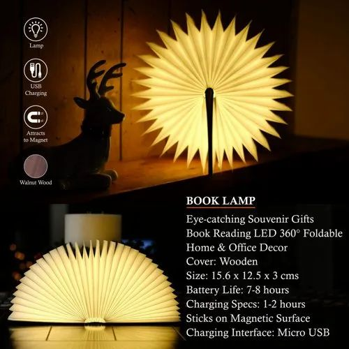 Book Lamp Reading Lamp Table Lamp