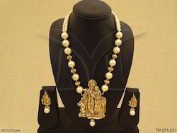 South Indian Temple Designer Pendant Set
