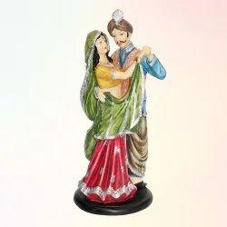 Home Decorated Rajasthani Bhangra Statue