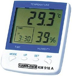 Digital Hygro Thermometer With Clock & Alarm Function
