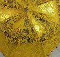 Gold Printed Decorative Umbrella