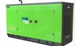 82.5kva kirloskar green silent generator