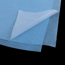 Medical Blue Laminated Non Woven Fabric For PPE Suit