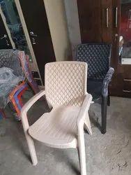resto Brown Plastic Chair, Warranty: 6 months