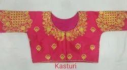 Kasturi Embroidery Designer Blouse