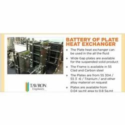 Plate Heat Exchanger Battery