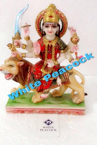 MARBLE DURGA STATUES - Maa Durga Marble Statue Exporter from Jaipur