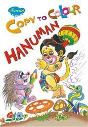 Copy To Colour Hanuman