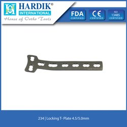 Locking T Plate 4.5mm/5.0mm