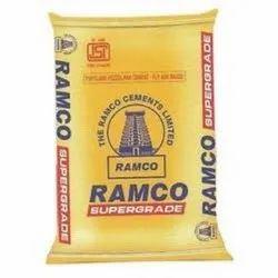 Ramco Super Coast Cement, Packing Size: 50 Kg/ Bag, Grade: Grade 53