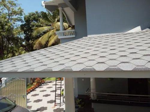 Slop Roof Asphalt Cement Roofing Sbs Shingles Rs 65 Square Feet Sky Bond International Id 21454368048