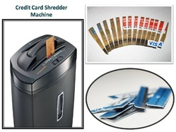 Credit Card Shredder