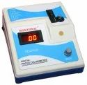 400 - 700 Nm Plastic Digital Colorimeter, Capacity: 1 Ml