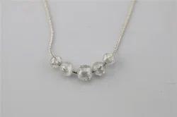 Diamond Beads On Chain
