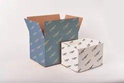 Rectangular Printed Corrugated Cardboard Box, Ply: 7