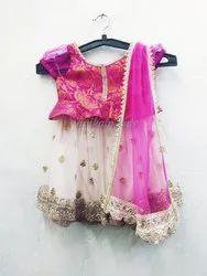 Designer Festive Wear Kids Lehenga Choli Design