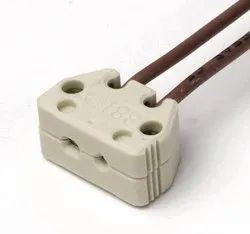 Ceramic Halogen Lamp Holder, for Scientific/Medical instruments