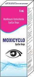 Moxifloxacin Hydrochloride Eye/Ear Drops