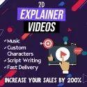 2D Explainer Videos Service