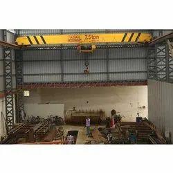7.5 Ton Single Beam EOT Cranes