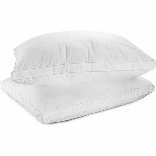 White Hotel Pillow