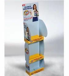 GKW Rectangular Thermoforming Parasite Dispenser Stand, For Supermarket