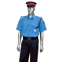 Men Half Sleeve Security shirt