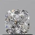 0.57 Ct Gia Certified Cushion Cut Natural Diamond D VVS1 EX EX S