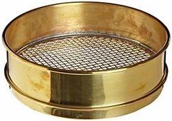 Silver Square Fine Aggregate Brass Sieves