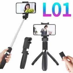Selfi stick with tripod