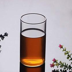 Transparent 350ml Femora Borosilicate Glass Water Tumbler