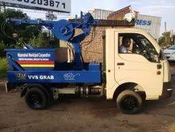 Vehicle Mounted Desilting Grab Machine