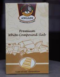 Premium White Compound Chocolate Slab