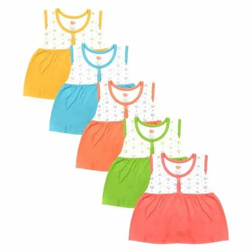 Kids Girls Knee Length Casual Dress