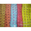 Pure Chinnon Fancy Embroidery Fabric