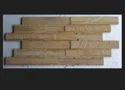 Sand Blast Teak Wall Panel