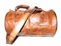 Genuine Leather Gym Bag