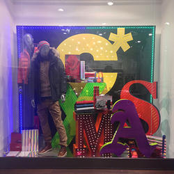 Window Display X Mass Stand
